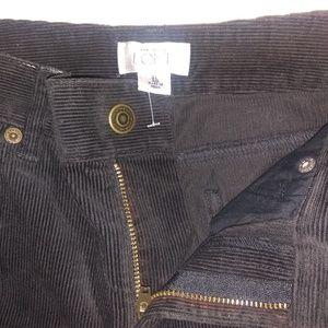 Ann Taylor Loft Matchstick Velvet Pants